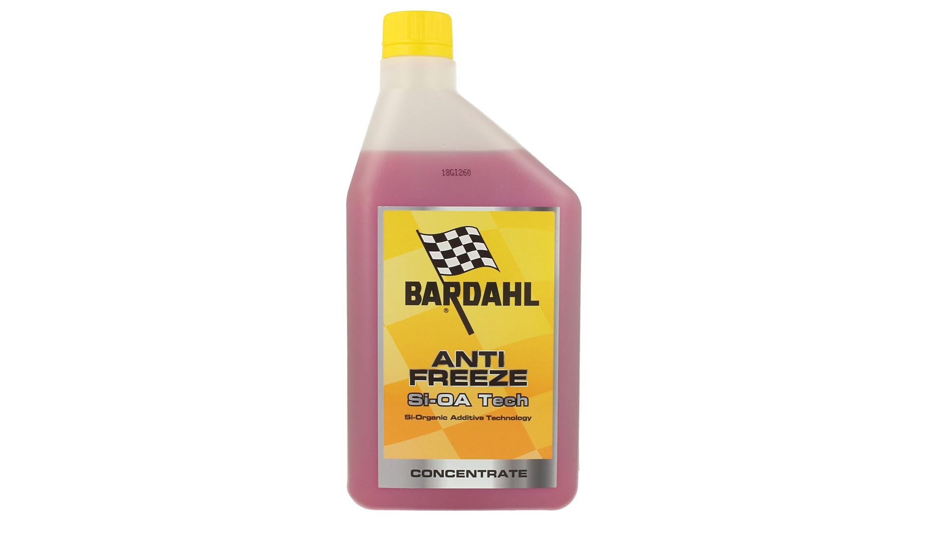BARDAHL Antifreeze Si-OA Tech Antigelo Viola Concentrato -37°C +108°C 1 LT - PZ