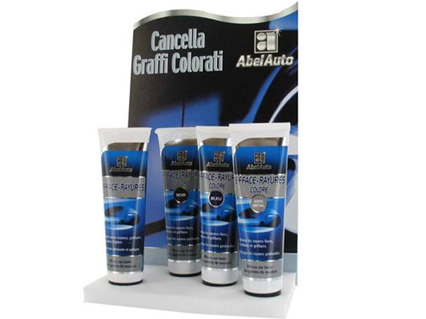ABEL Auto Rimuovi Elimina Cancella Graffi Colore Grigio Per Auto Moto Pasta Abrasiva 100 ml - PZ