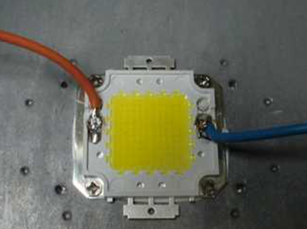 Epistar Power Led COB 100W Multi Chip Integrato 27-36V DC 3000 mA Bianco Caldo 3000K 8000 LM - PZ