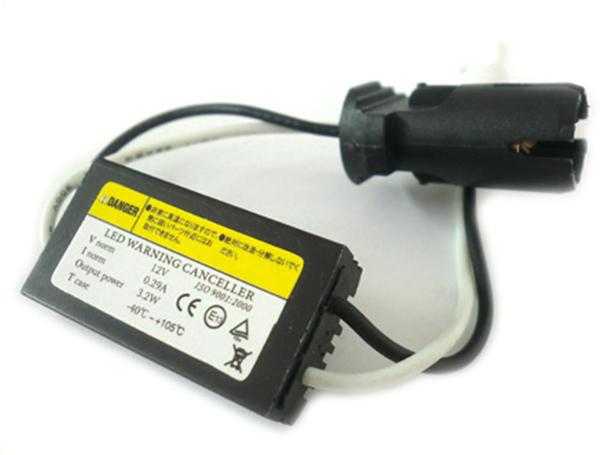 Filtro Portalampada Resistenza T10 W5W 12V Led Warning Canceller No Errore Luci Di Posizione Con Dissipatore - PZ