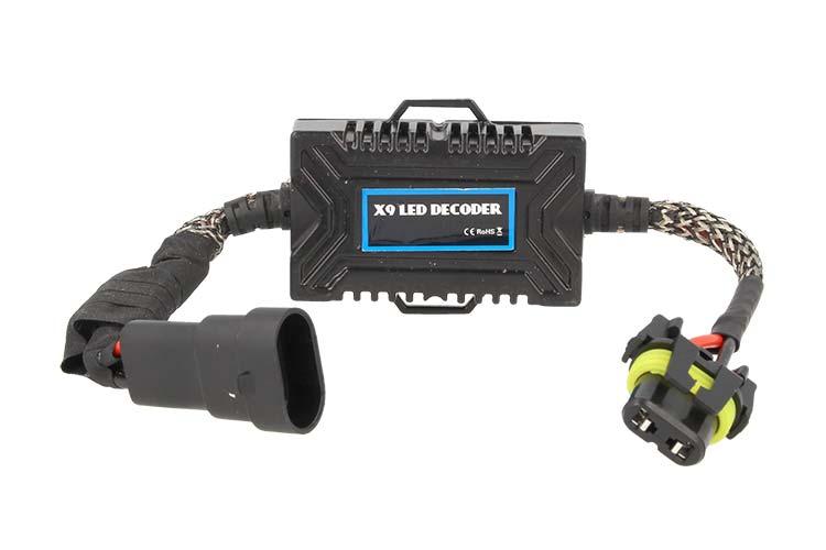 Led Digital Warning Canceller 9005 9006 H10 HIR2 20W 12V Filtro Resistenza - PZ