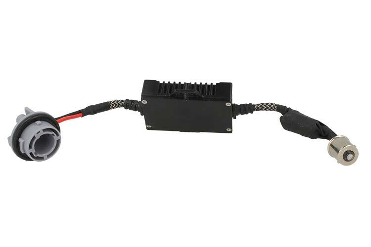 Led Digital Warning Canceller BA15S 1156 20W 12V Filtro Resistenza - PZ