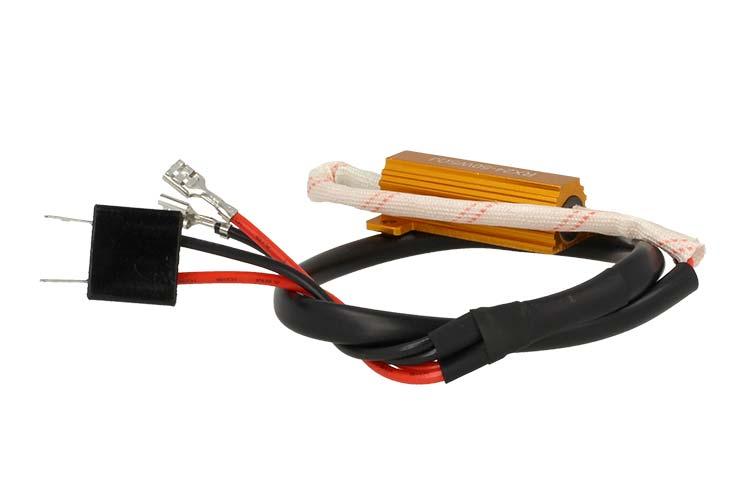 Filtro Portalampada Resistenza Per Lampada Led H7 No Errore Warning Canceller 50W 6 Ohm - PZ