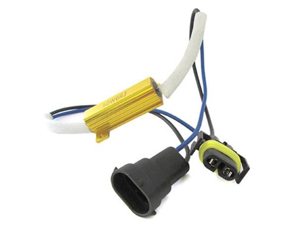 Filtro Portalampada Resistenza Per Lampada Led H8 H11 No Errore Warning Canceller 50W 6 Ohm - PZ