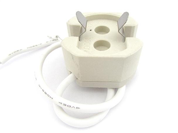 2 PZ Portalampade Adattatori Lampada Attacco G12 Per Fare Test Resistenza e Durata - BUSTA