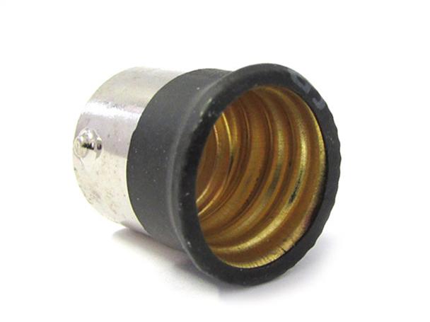 2 PZ Convertitore Adattatore Portalampada Per Lampada Led Attacco Da BA15S A E14 - BUSTA