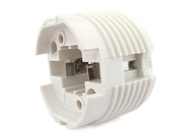 2 PZ Portalampade Adattatori Lampada Attacco G24 2 Pin Per Fare Test Resistenza e Durata - BUSTA