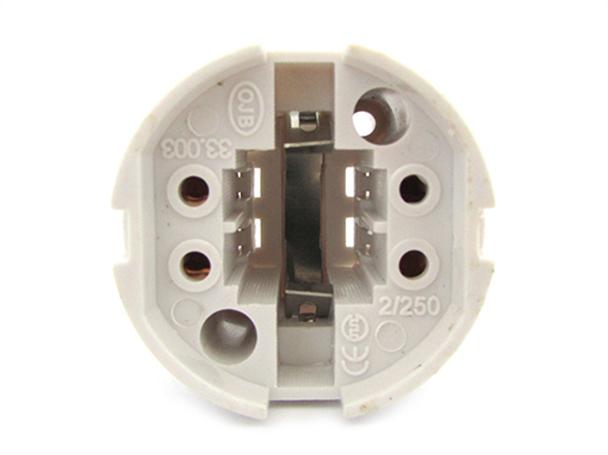 2 PZ Portalampade Adattatori Lampada Attacco G24 4 Pin Per Fare Test Resistenza e Durata - BUSTA