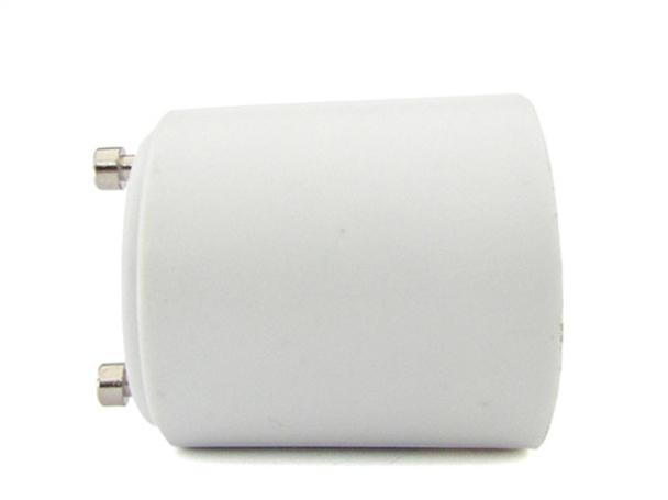2 PZ Convertitore Adattatore Portalampada Per Lampada Led Attacco Da GU24 A E27 - BUSTA