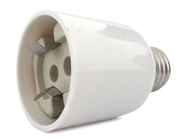 2 PZ Convertitore Adattatore Portalampada Per Lampada Attacco Da E27 A G12 - BUSTA