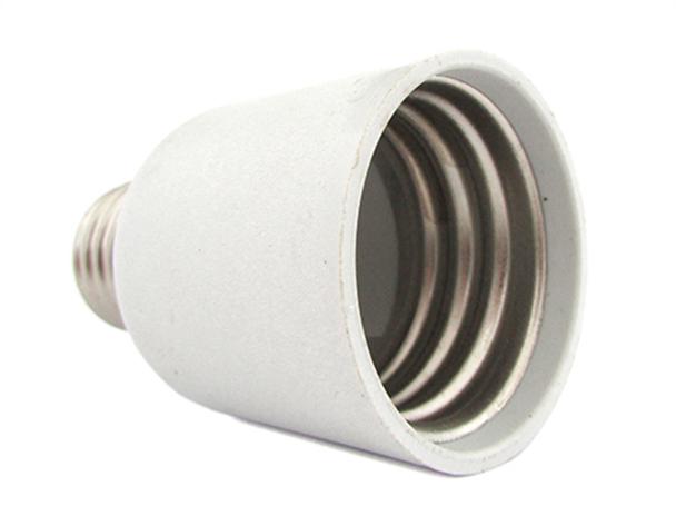 2 PZ Convertitore Adattatore Portalampada Per Lampada Attacco Da E27 A E40 - BUSTA