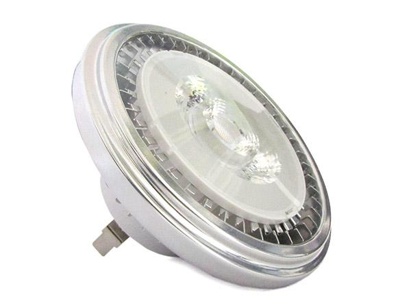 Lampada Faretto Led AR111 G53 AC/DC 12V 15W Bianco Neutro Angolo 35 Gradi - PZ