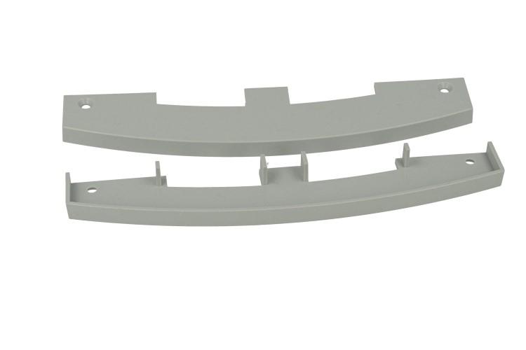 BA1550 Coppia Tappi Tappini Termine Per Chiusure Del Profilato Alluminio BA1537