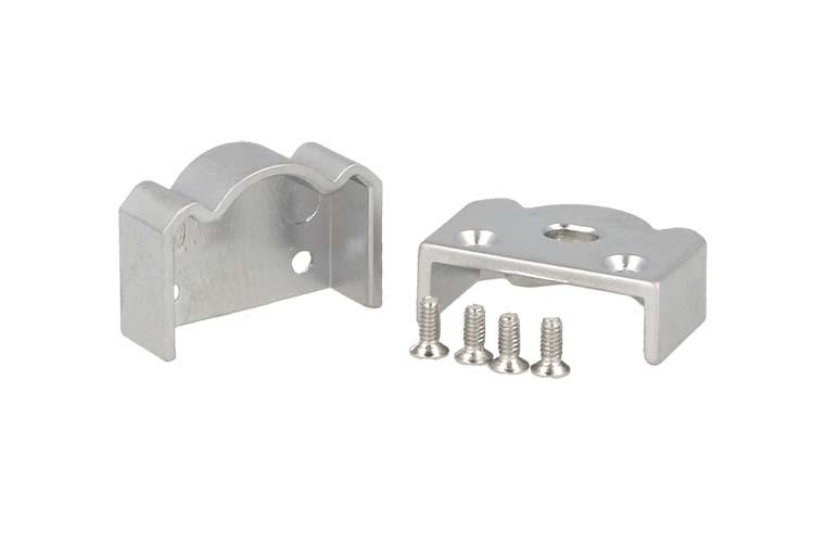 Coppia Tappi Tappini Termine Per Chiusure Profilo Alluminio BA1814 e Diffusore Con Lente BA3341 - PAIO