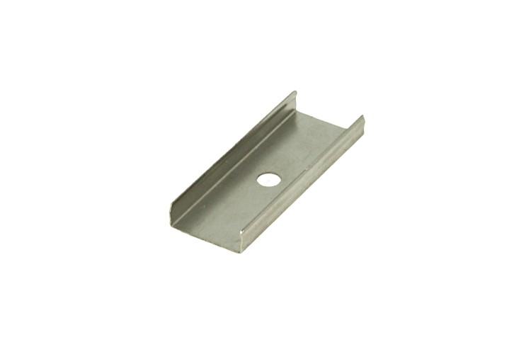 Clip Guida Gancio Metallico Per Fissaggio Del Profilo Alluminio BA2008 e BA2016 - PZ