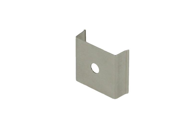 Clip Guida Gancio PC Per Fissaggio a Muro Del Profilo Barra Alluminio BA3001 e BA4001 - PZ