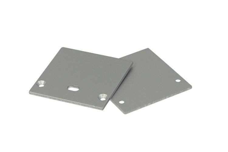 Coppia Tappini Termine Per Chiusure Del Profilato Alluminio Da Soffitto o A Sospensione BA3535 - PAIO