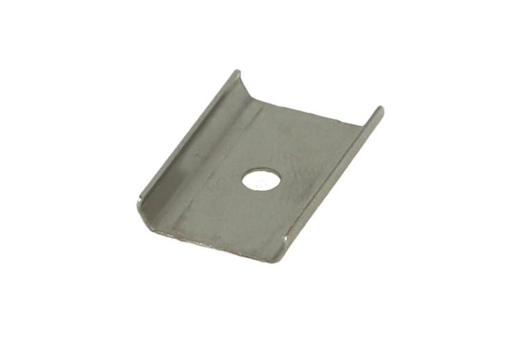 Clip Guida Gancio Metallo Per Fissaggio Profilato Alluminio BA3535 e BA1814 - PZ