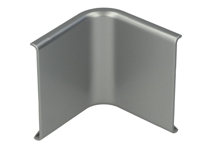 Connettore Angolare Curva Per Angolo Interno Del Muro Parete Del Profilato Alluminio BA4420 - PZ
