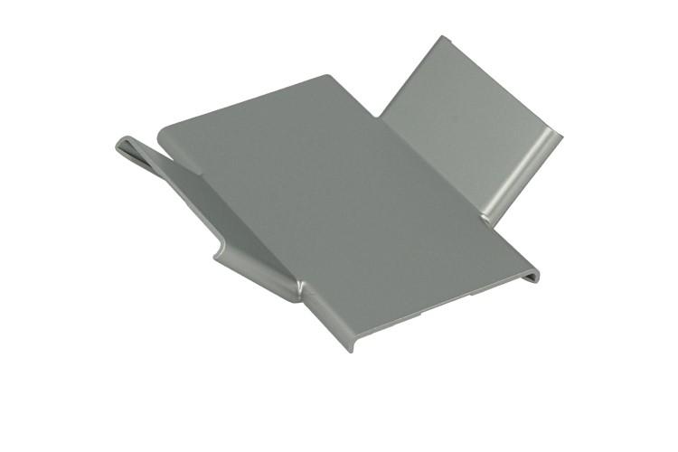 Connettore Forma X Per Curva Angolo Interno Muro Parete Del Profilato Alluminio BA4420 - PZ