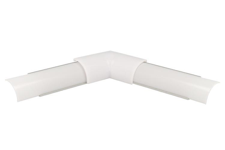 Connettore Angolare Per Angolo Interno Per Profilo Alluminio Slim Angolare 45 Gradi BA1616 - PZ