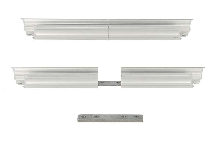 Connettore Lineare Per Profilo Alluminio BA2620 BA4435 BA5570 BA3535 - PZ