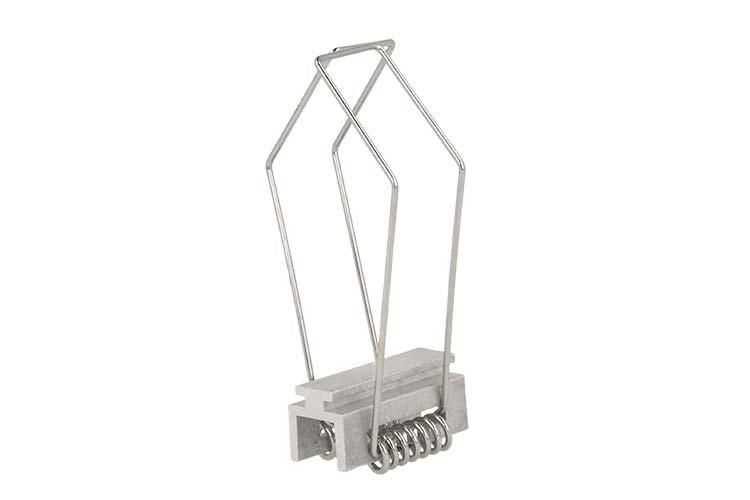 Clip Molla Grande Per Fissaggio Da Incasso Profilo Alluminio BA4435 - PZ