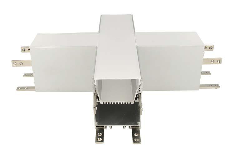 Connettore Forma X Per Profilo Alluminio BA5570 - PZ