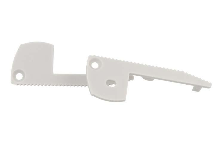 Coppia Tappi Tappini Termine Per Chiusure Profilo Alluminio Scale Gradini Passatoie Calcestruzzo BA5001 - PAIO