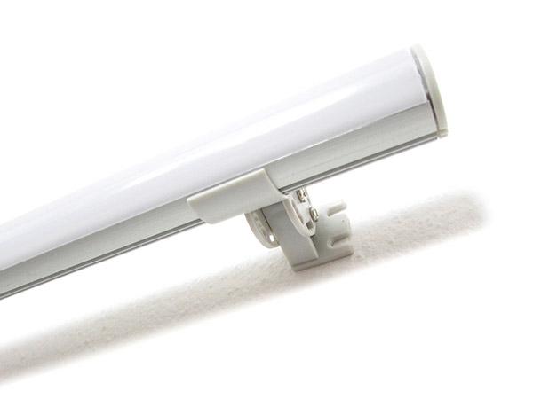 Gancio Supporto per Fissaggio Orientabile Regolabile in 9 Angolazioni per Muro Parete del Profilo Barra Alluminio Tondo BA6001 - PZ