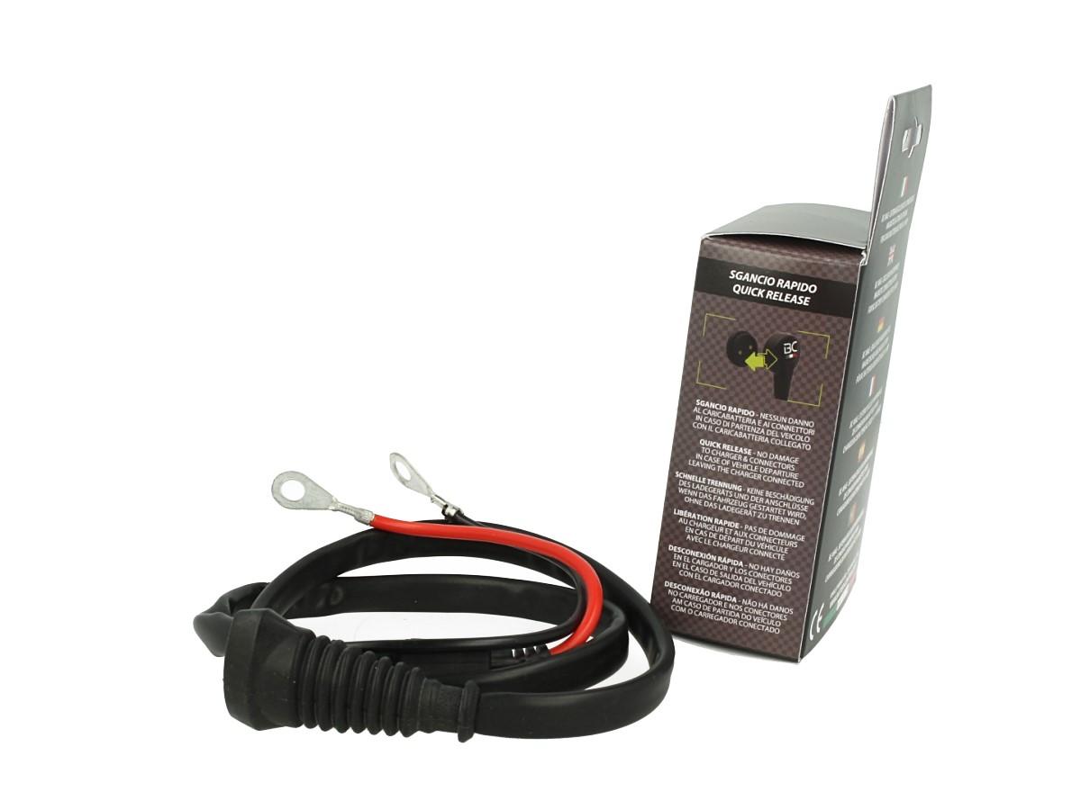 Cavo Batteria Mag-Cable Per BC MAG-F Con Filo Lunga 80cm 12V Massimo 15A Fusibile Incluso - PZ