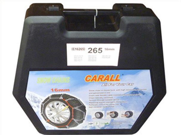 Catene Da Neve 16mm 4WD Per SUV 4X4 Fuoristrada Camper Furgone Gruppo 255 CARALL - KIT