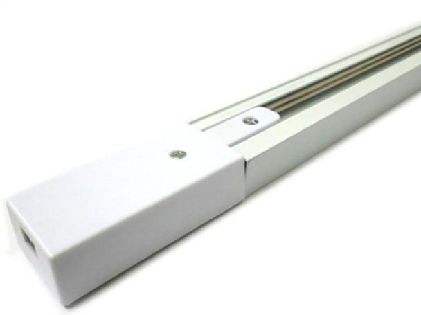 Sistema Binario Guida Da 1 Metro Colore Bianco Mono Fase Per Faretti Led A Binario - PZ