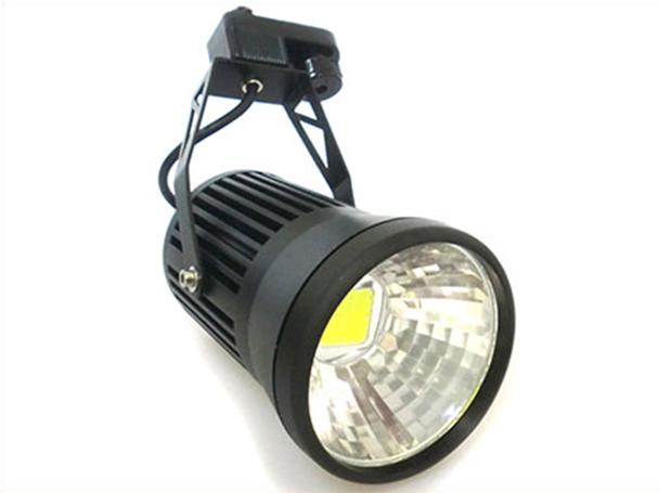 Faro Lampada Led A Binario 220V 20W Bianco Freddo Modello Nero Tracking Lamp Spot Light Led - PZ