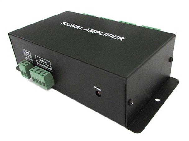 Amplificatore Segnale SPI Dream Color Signal Amplifier 8 Canali Per Bobina Led Magic Color 12V 24V HC800 - KIT