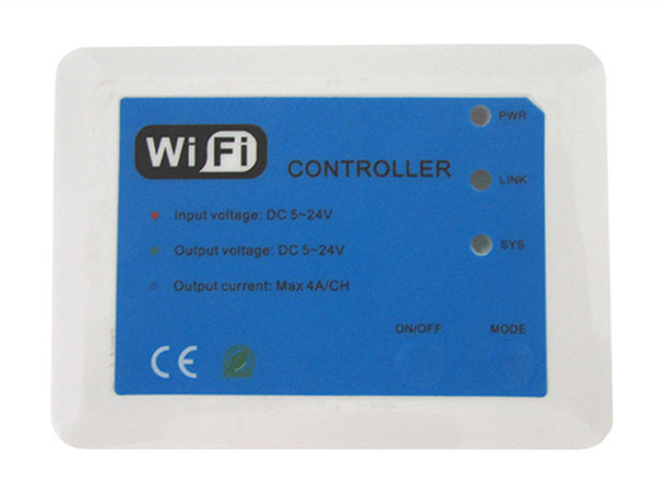 WiFi Mini Controller Centralina 12V 24V 3X4A Per Strip Led RGB Color Temperature Dimming Light WF102 - KIT