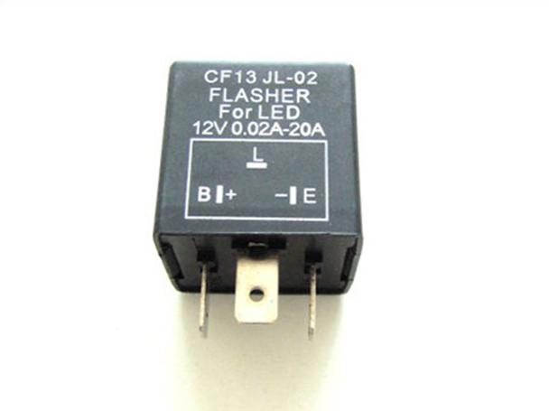 Flasher Led Auto Lampeggiatore Rele Relay Per Frecce Led 12V 3 Spine CF13 Per Auto Macchine Giapponese - PZ