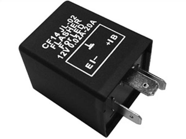 Flasher Led Lampeggiatore Rele Relay Auto Per Frecce Led 12V 3 Spine CF14 Per Auto Macchine Europea Americano - PZ
