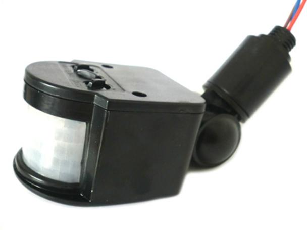 Sensore Movimento PIR Rilevamento Presenza Infrarossi Sensore Luce Crepuscolare 150W 220V Per Luci Led Nuovo Smontato - KIT
