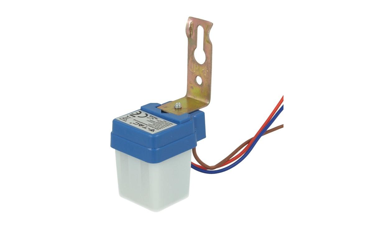Sensore Crepuscolare Photo Cell Sensor 220V 6A IP44 Interno Esterno SKU-5081 - KIT