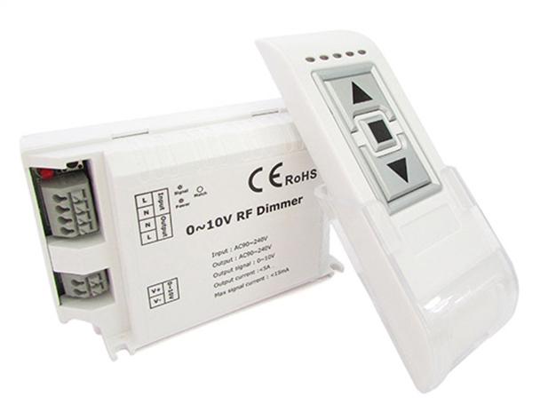 Led Dimmer Segnale 0-10V Wireless Con Telecomando RF 220V Massimo 200W DM015 - KIT