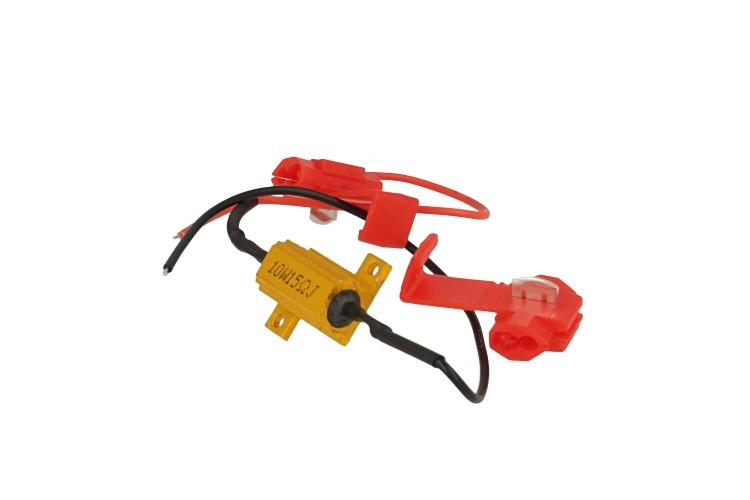 Resistenza Filtro Per Lampada LED T10 T11 W5W C5W C10W 10W 15 Ohm No Spia Errore Per Luci Posizione e Targa - PZ