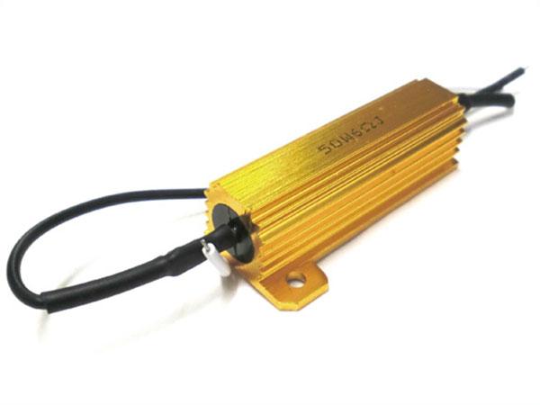 Resistenza Filtro Per Lampada LED BA15S BAY15D 50W 6 Ohm No Spia Errore Intermittenza Per Luci Anabbagliante Abbagliante e Fendinebbia - PZ