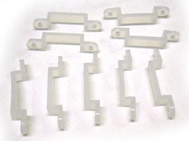 20 PZ Clip Per Fissare Bobina Striscia Led Impermeabile Da 12mm Di Larghezza - BUSTA