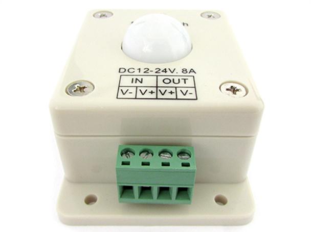 Plafoniera Per Esterno Con Rilevatore Di Presenza : Sensore di movimento per luci led con pir rilevatore