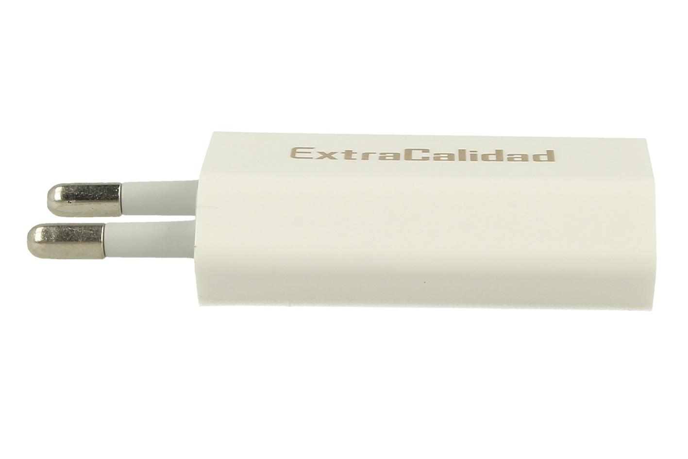 Caricabatteria Con USB 5V 2,1A Da Muro Alimentatore Trasformatore CV Per Smartph