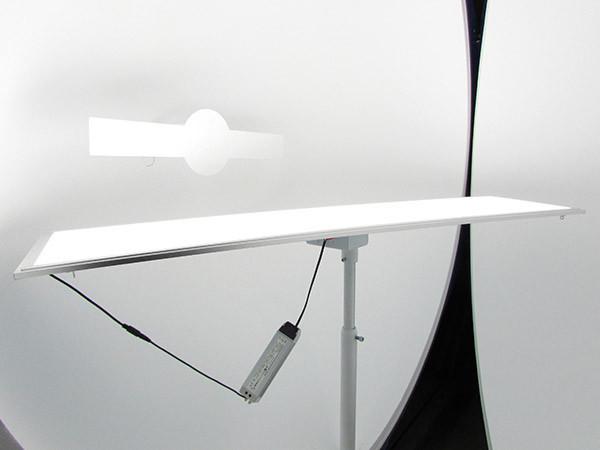 Plafoniere Led Rettangolare : Pannello led dimmerabile rettangolare 40w bianco freddo 120x30 cm