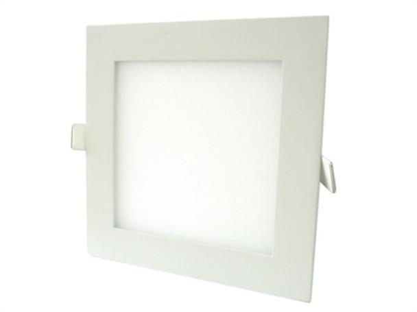 Plafoniera Quadrata Led Esterno : Pannello faretto led da incasso w bianco caldo v quadrato