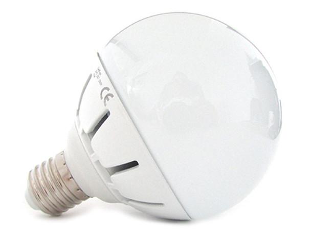 Lampade Globo A Basso Consumo : Lampada led e globo opaca sfera g w w bianco caldo k