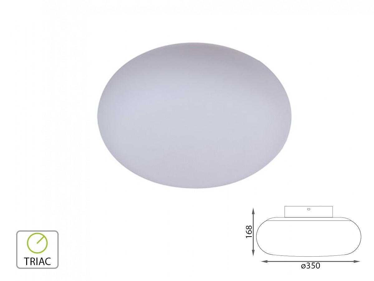 Plafoniera Muro Moderna : V tac applique lampada led da parete o plafoniera soffitto